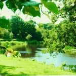 The Blackwater River from the Argory)