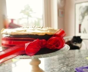 The last minute Christmas Cake!