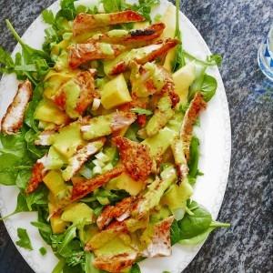 Chicken tikka salad (1)
