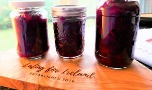 cranberry confit
