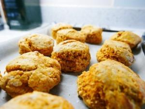 Pumpkin scones (9)