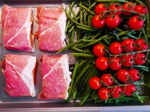 Salmon with Parma ham (3)