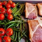 Salmon with Parma ham (8)