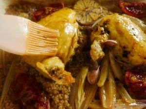 Chicken, Coriander and orange bake (1)