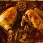 Chicken, Coriander and orange bake (3)