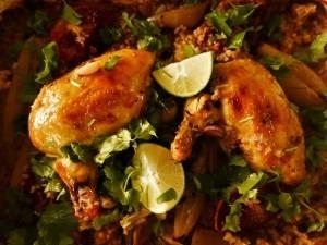 Chicken, Coriander and orange bake (5)