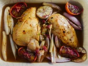 Chicken, Coriander and orange bake (8)