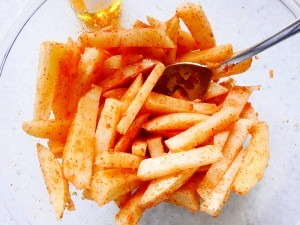 Oven chips (6)
