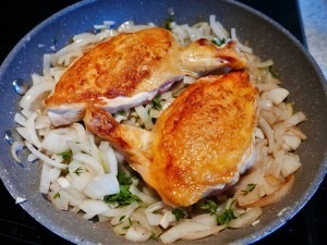 Chicken Supreme with thyme and wine (9)