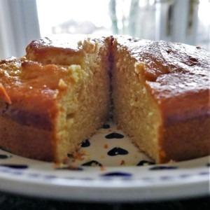 Orange and yoghurt cake (1)