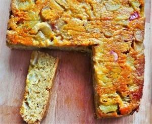 Rhubarb and Orange upsidedown cake (10)