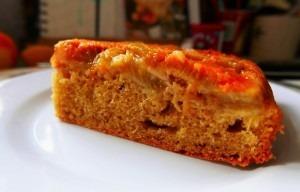 Rhubarb and Orange upsidedown cake (11)