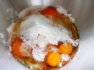 Rhubarb and Orange upsidedown cake (6)
