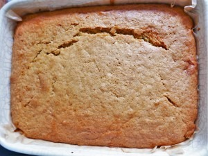 Rhubarb and Orange upsidedown cake (8)