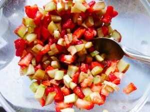 Strawberry and Rhubarb Bars (12)