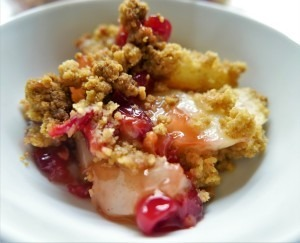 Cranberry, Pear and Ginger Crumble (13)