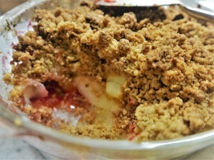 Cranberry, Pear and Ginger Crumble (9)