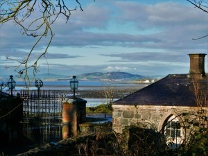 The view towards Scrabo Tower