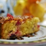 Pear and Cranberry cake (10)