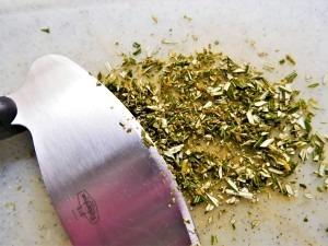 Finely chopped Rosemary
