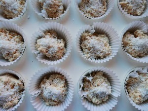 Coconut muffins ist go (1)