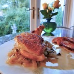 Chicken Supreme with thyme and wine (1)